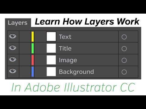 Adobe Illustrator CC Tutorial - Layers thumbnail