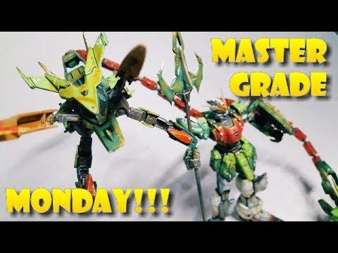 MASTER GRADE MONDAY!!! SUPER NOVA-GUNDAM ALTRON CUSTOM feat INKED GUNPLA