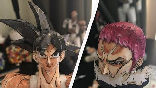 GOKU HAIR Tutorial - How To Make A Paper Model Ep. 9