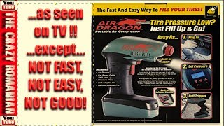 AS SEEN ON TV AIR DRAGON Portable tire inflator - In-Depth Review
