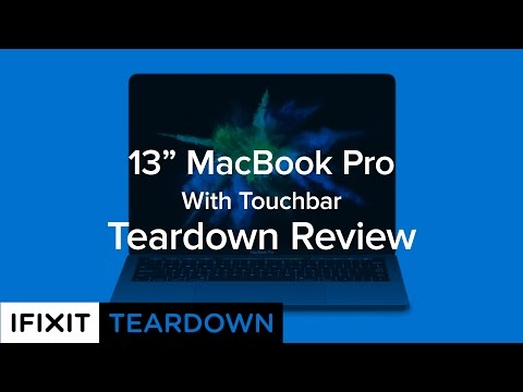 "13"" MacBook Pro (With Touchbar) Teardown Review!"