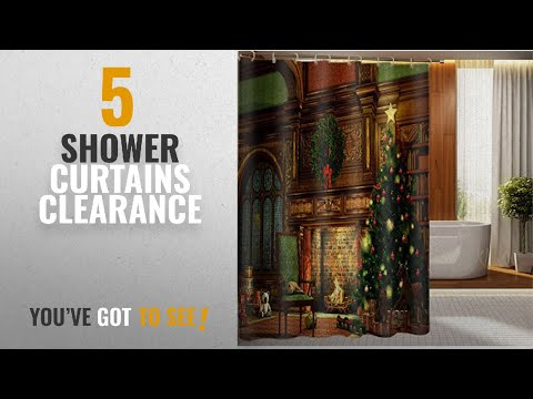 Top 10 Shower Curtains Clearance [2018]: Beddinginn Fabric Decor 3d Shower Curtain Warm and Sweet