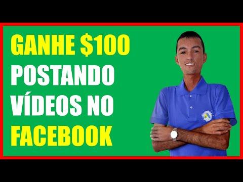 Ganhe $100 No Facebook | Como Ganhar Dinheiro No Facebook