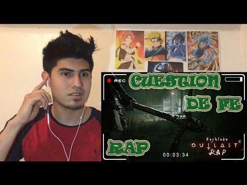 OUTLAST 2 RAP - Cuestión de Fe | Keyblade | VÍDEO REACCION
