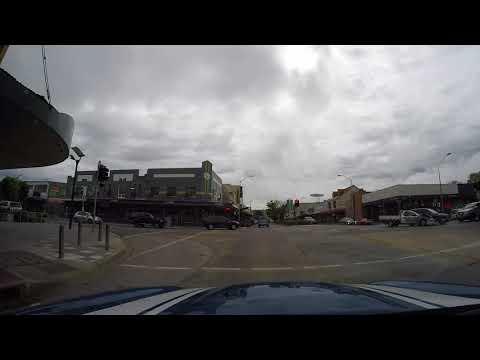 Bad Driver in Queanbeyan NSW Australia HD 20 Oct 2017