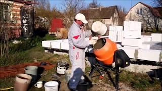 Как построить дом из газобетонных блоков своими руками