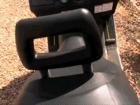 The New Backrest on my Suzuki Burgman 650