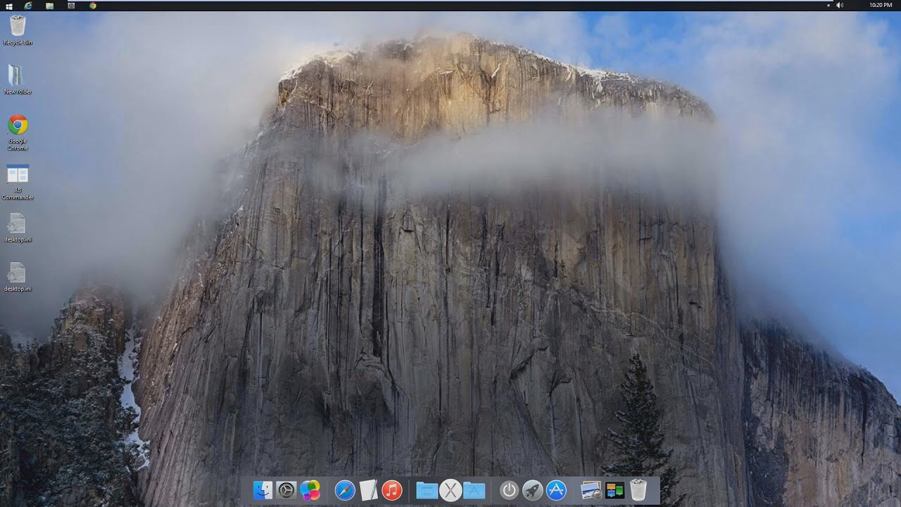 mac theme for windows 10