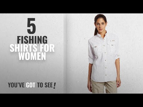 Top 10 Fishing Shirts For Women [2018]: Columbia Women's Bahama Long Sleeve Fishing Shirt (White,