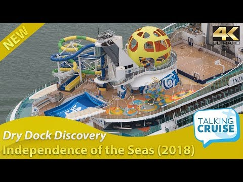 Dry Dock Discovery – Independence of the Seas Before and After