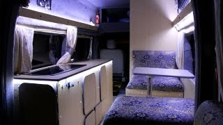How To Make A Self-build Motorhome - Low Budget - From Start To Finish