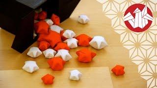Tuto Origami - Etoiles chinoises du bonheur [Senbazuru]