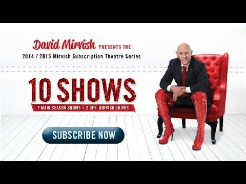 2014/2015 Mirvish Subscription Theatre Season