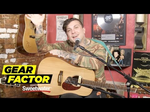 Frank Iero Plays Favorite My Chemical Romance + Solo Project Riffs