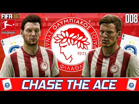 BOTTLE JOB! ! - Chase the Ace - Olympiacos - Fifa 18 Career Mode - Ep 8