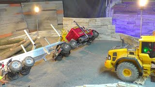 HORRIBLE ACCIDENT!!!  THE RC GRAND HAULER AND K-700 CRASHED!