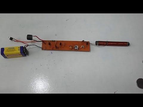 Montagem de um Detector Pinpointer Artesanal