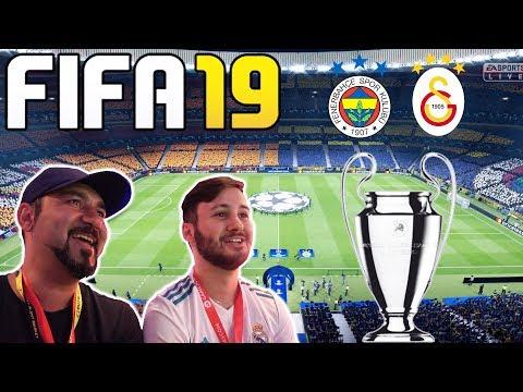 FIFA 19 FENERBAHÇE-GALATASARAY ŞAMPİYONLAR LİGİ FİNAL MAÇI!