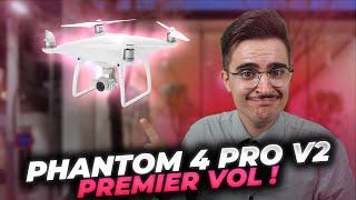 PREMIER VOL PHANTOM 4 PRO V2.0 - WAOUH !