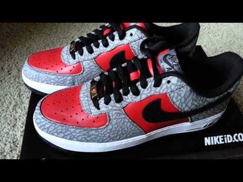 NIKE ID @NikeID Air Force 1 Low Pendleton Wool 12.5.2015 @samcolt12