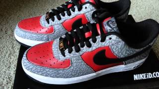 air force one lunar red