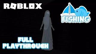 Roblox Pêche ( PlayThrough complet (en anglais seulement) Jeu de Roblox Horror