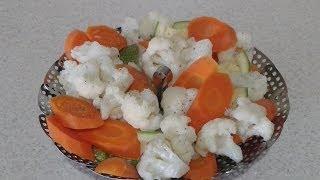 como hago las verduras al vapor facil y rapido