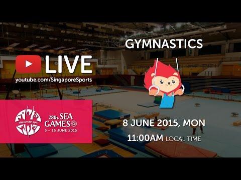 Gymnastics Men Artistics Individual All-Around | 28th SEA Games Singapore 2015