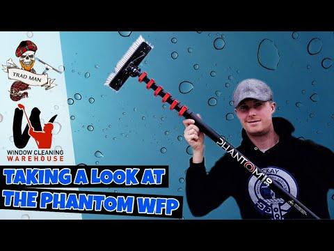 The 30ft Phantom water fed pole setup
