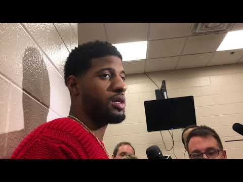 Thunder - Paul George on the win over Philly
