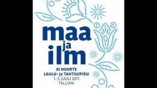 """Gambar cover Olav Ehala """"Maa ja ilm"""""""