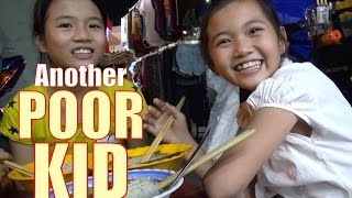 I help feed some poor kids. Vietnam charity video.