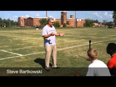 Former Falcons QB speaks to youth