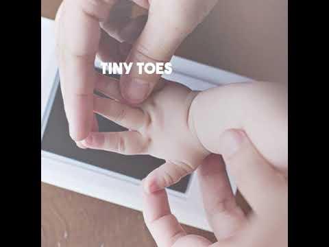 Baby Handprint & Footprint Non-Toxic Ink Pad Kit