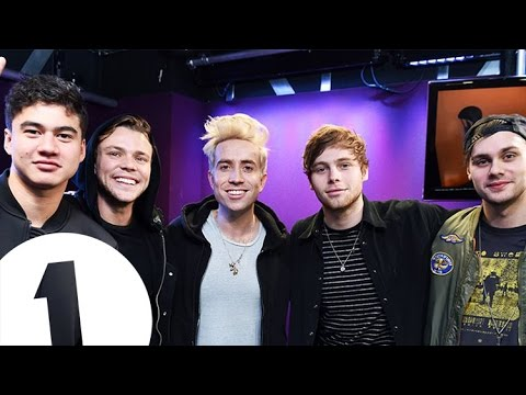 5SOS talk fan fic, pizza and penguins with Grimmy