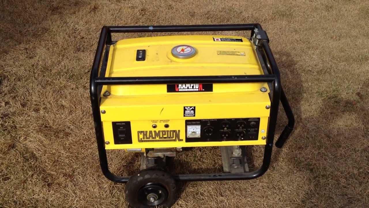 6.5 hp champion generator for sale - anchorage alaska craigslist