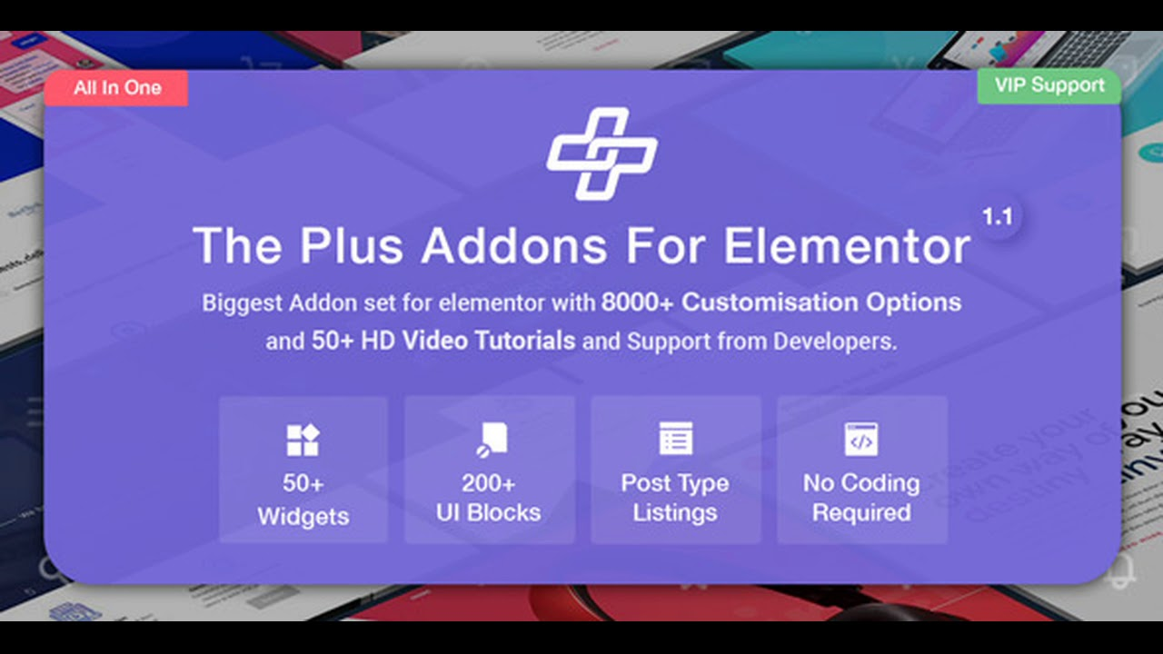 The Plus v1.3.2 – Addon for Elementor Nulled
