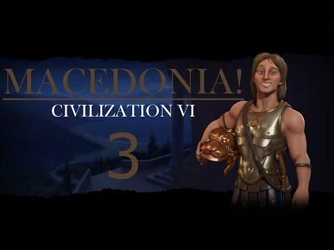 Civilization 6 Gameplay - Macedonia/Deity - Episode 3: Eurekasplosion!