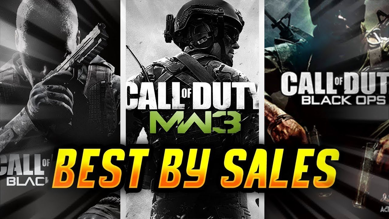 Ranking the TOP 10 Call of Duty Titles By Sales EVER!!