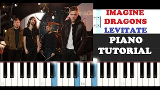 Imagine Dragons - Levitate (Piano Tutorial )