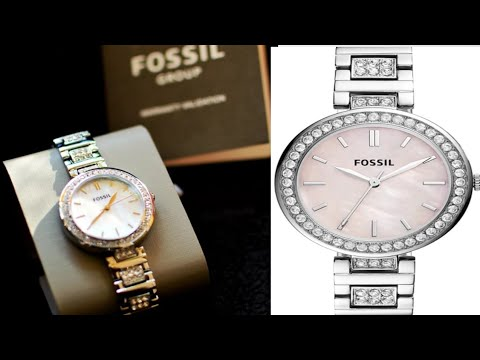 Fossil BQ3182 Karli Analog Watch For Women|How To Register Fossil Watches Online