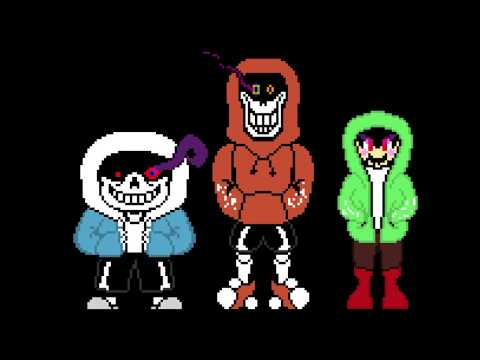 Mad Time Trio - The Triple Red Megalovania (aka Update)