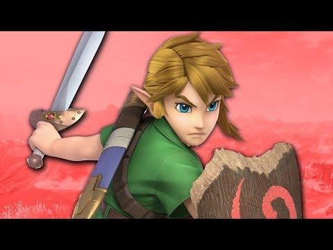 Link's WILD Design - Super Smash Bros. Ultimate thumbnail