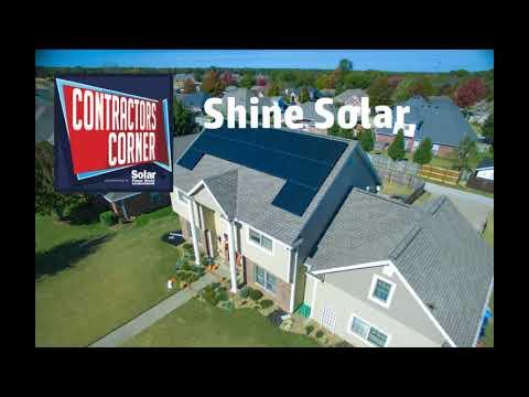 Contractors Corner: Shine Solar