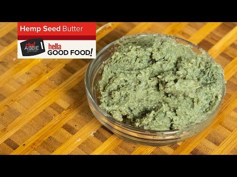 HOMEMADE Hemp Seed Butter Recipe (Super EASY!)