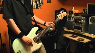 "Blink-182 - ""Dick Lips"" Bass Cover (LIVE)"