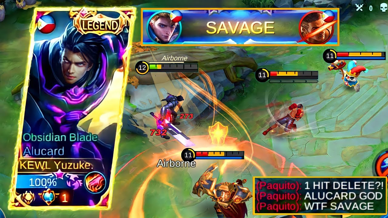 This Is How To Play ALUCARD!| SAVAGE Rank Gameplay!| New Build 2021!| MLBB