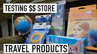 TESTING DOLLAR STORE TRAVEL PRODUCTS!