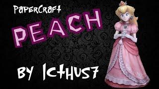 Peach Papercraft