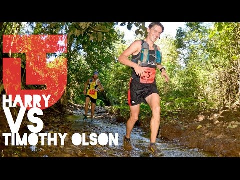 Thailand Ultramarathon 100K - Harry Vs Timothy Olson